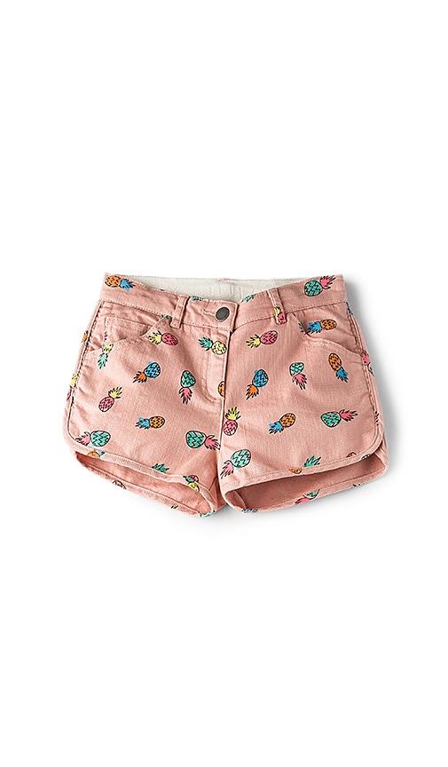 Stella McCartneyKids Emma Girls Denim Shorts in Pink