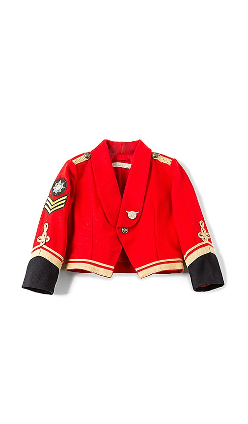 Stella McCartney Kids Lee Military Jacket in Red