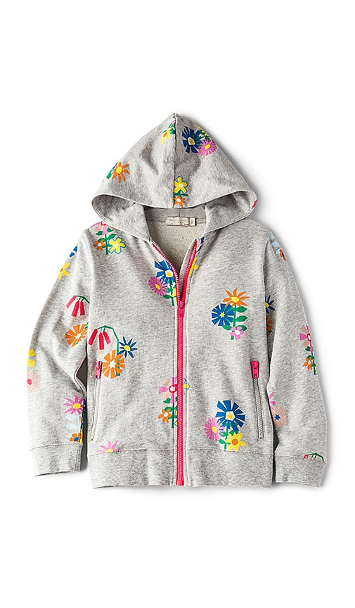 Stella McCartney Kids Rebecca Girls Hoodie in Gray