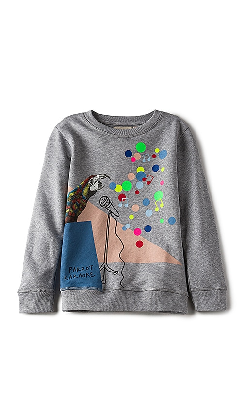 Stella McCartneyKids Betty Girls Sweatshirt in Gray