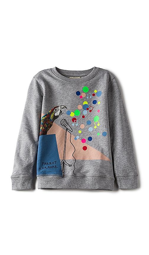 Stella McCartney Kids Betty Girls Sweatshirt in Gray