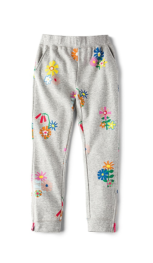 Stella McCartney Kids Zoey Girls Sweatpants in Gray