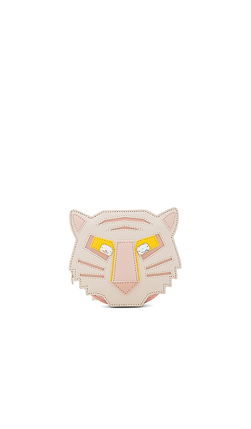 Stella McCartney Kids Tiggy Tiger Crossbody Bag in Beige