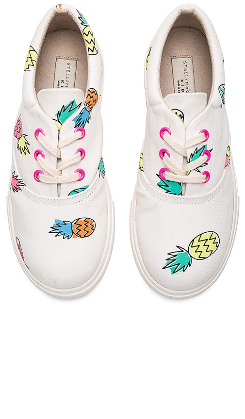 Stella McCartneyKids Rooster Girls Sneakers in White