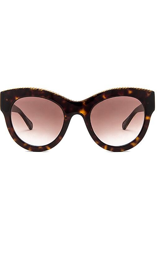 Stella McCartneyFalabella Cat Eye Sunglasses in Brown