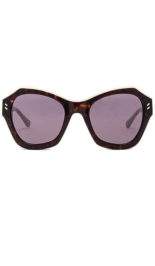 Stella McCartneyOversized Sunglasses in Brown