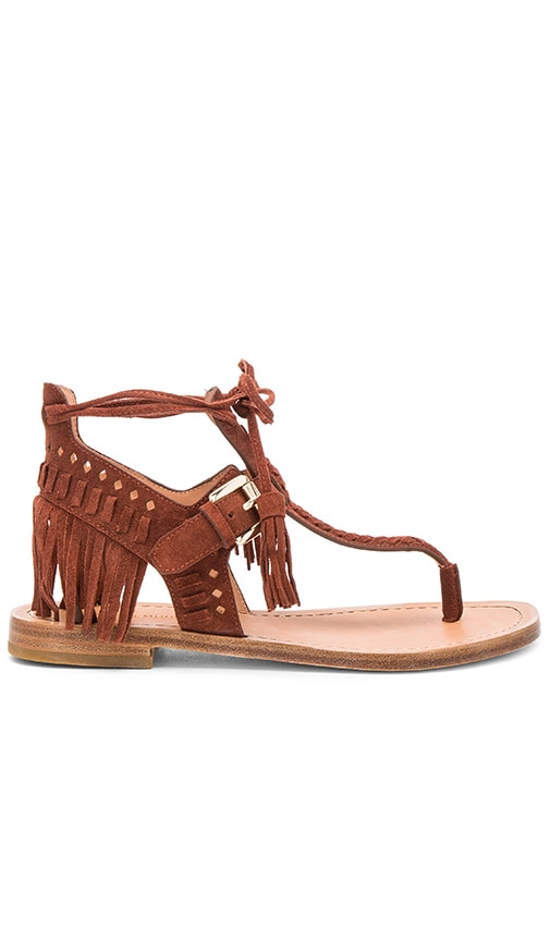 Sigerson Morrison Alysa Sandal in Brown