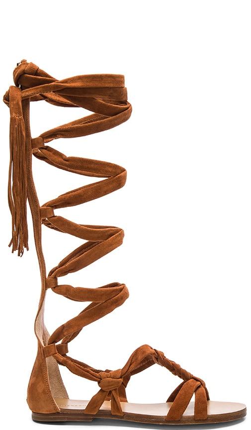 Sigerson Morrison Boni Sandal in Cognac