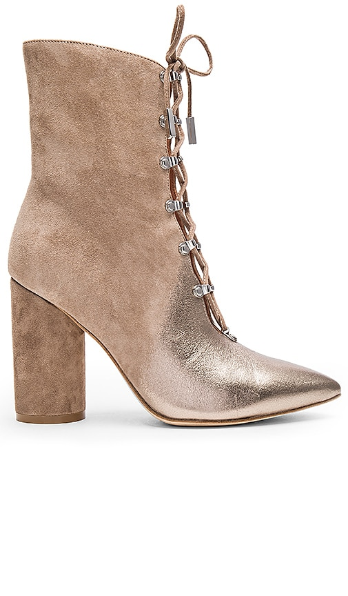 Sigerson Morrison Knight Bootie in Tan