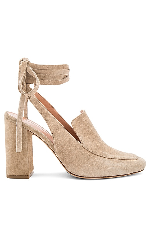 Sigerson Morrison Posie Heel in Taupe