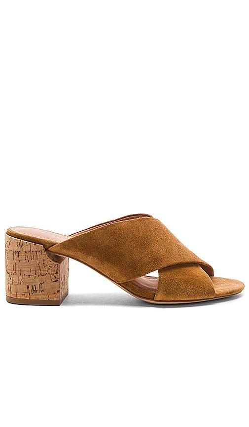 Sigerson Morrison Rhoda Heel in Cognac