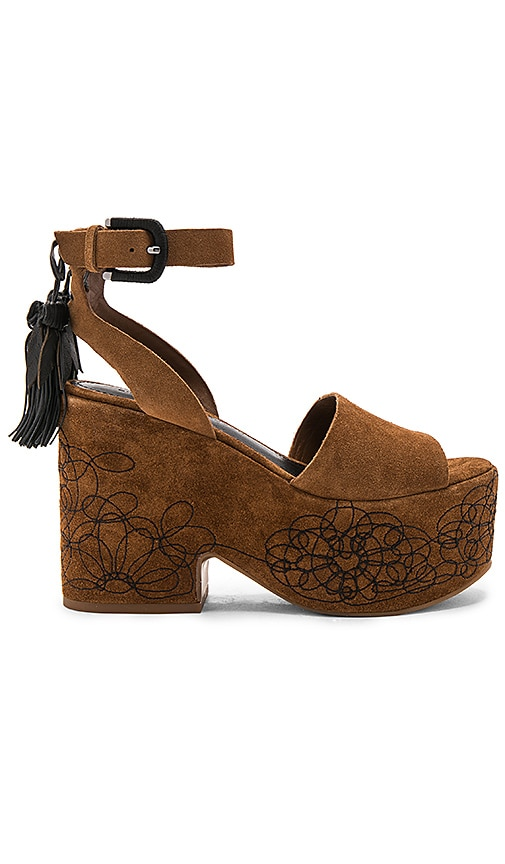 Sigerson Morrison Beia Heel in Brown