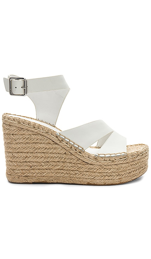 Sigerson Morrison Arien Wedge in White