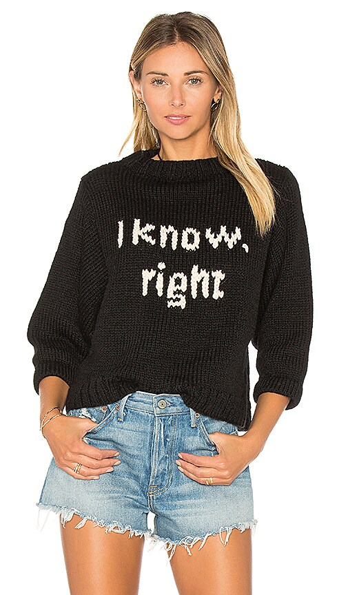 I Know Sweater