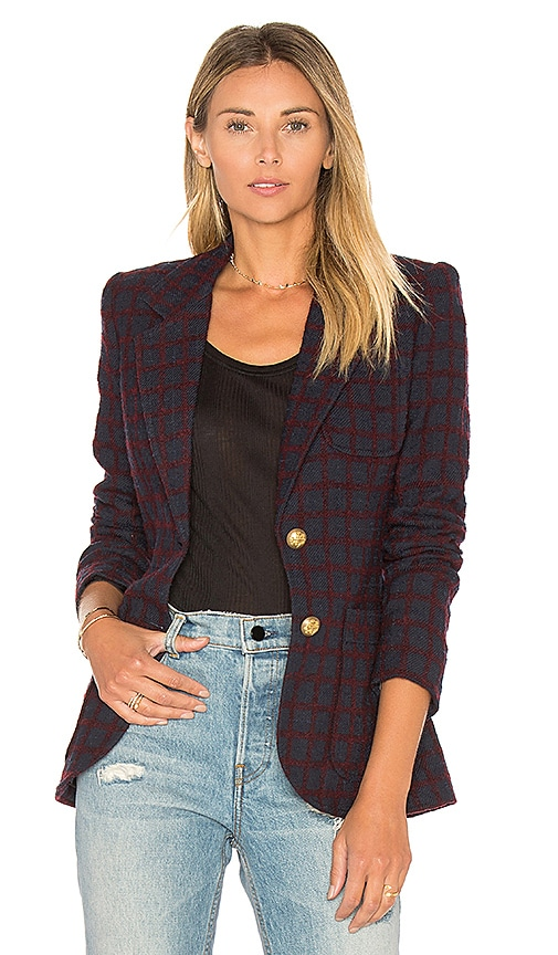 Smythe Two Button Blazer in Navy