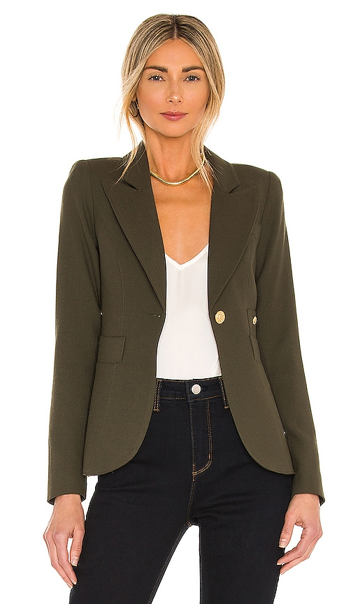 Smythe Duchess Blazer in Army