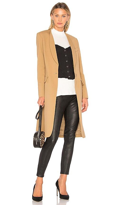 Skinny Lapel Coat