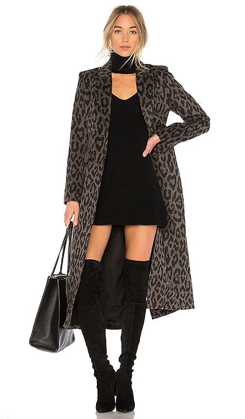 Smythe Brando Coat in Brown
