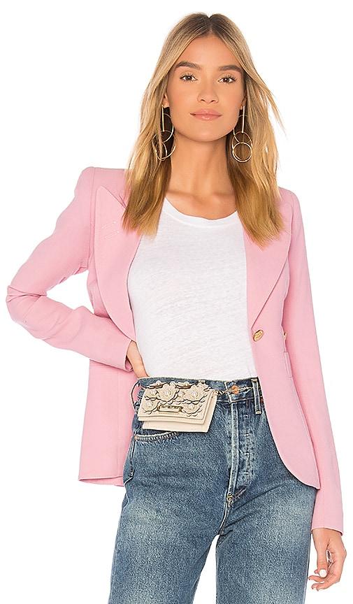 Smythe Duchess Breast Cancer Awareness Blazer in Pink