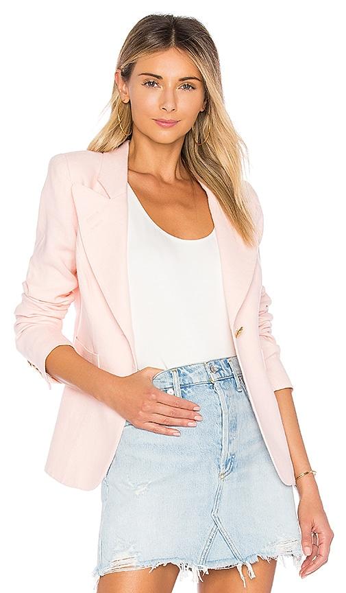 Smythe Classic Duchess Blazer in Pink