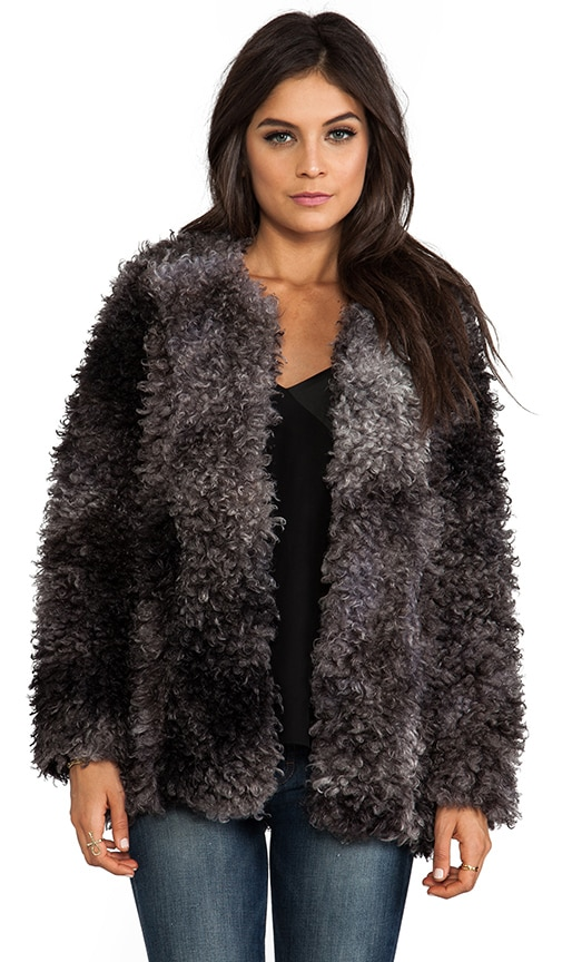 Chubby Faux Fur Jacket