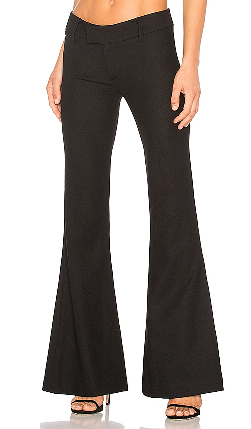 Smythe Bootcut Pant in Black