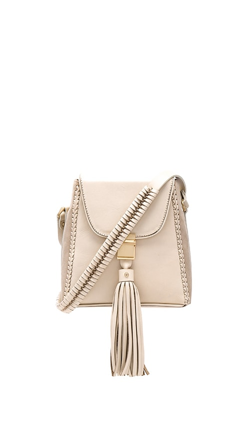 Sancia Milla Jet Set Mini Bag in Cream