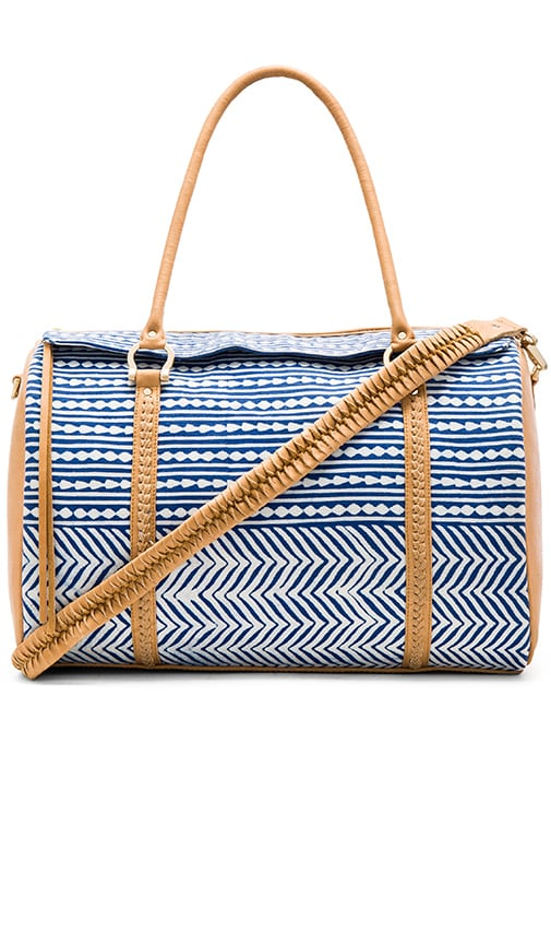 Sancia Jocelyn Duffle Bag in Blue