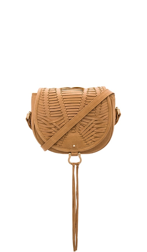 Sancia Babylon Bar Mini Bag in Tan