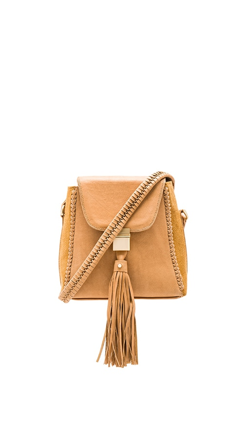 Sancia Milla Jet Set Mini Bag in Tan