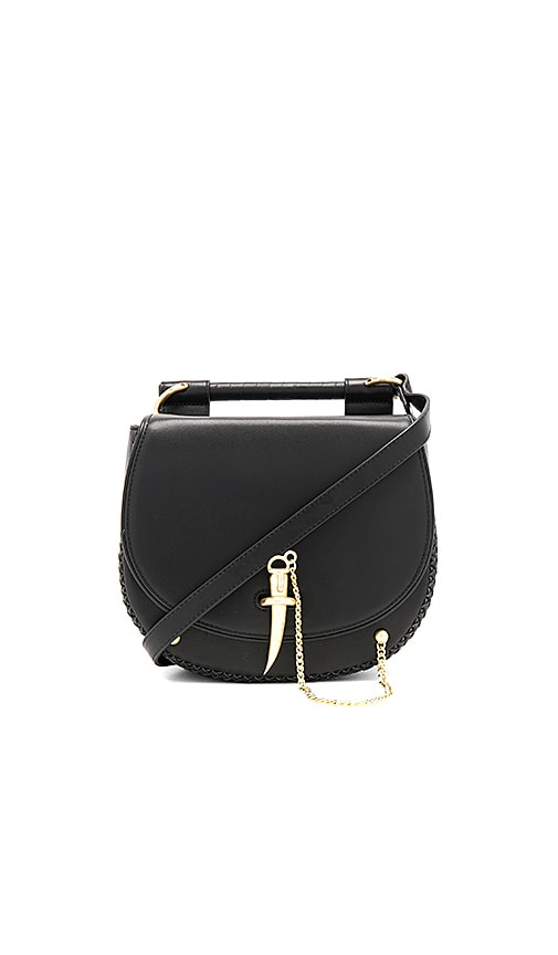 Sancia Babylon Bar Tooth Bag in Black