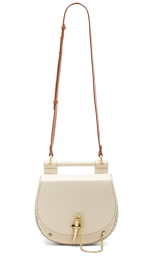 Sancia Babylon Bar Tooth Bag in Ivory