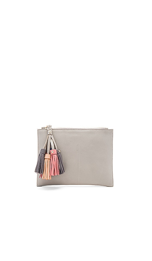 Sancia Daydream Clutch in Gray