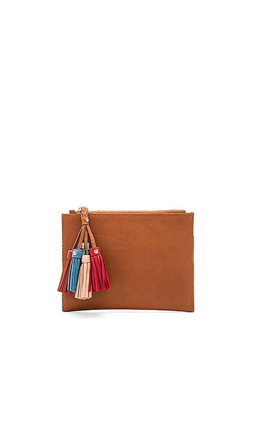 Sancia Daydream Clutch in Brown