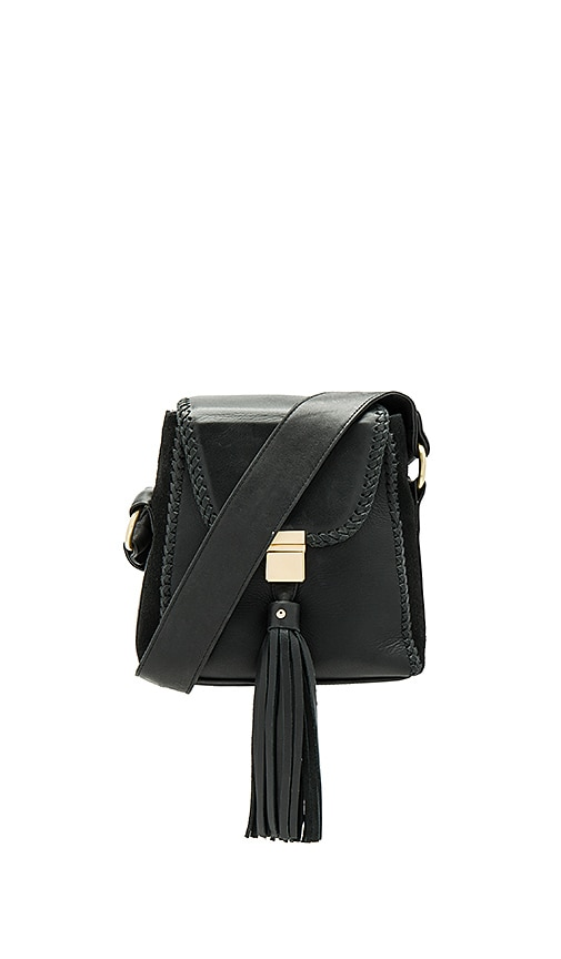 Sancia The Milla Braid Bag in Black