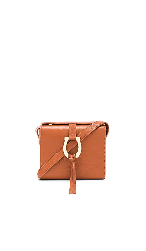 Sancia Madelena Mini Bag in Cognac