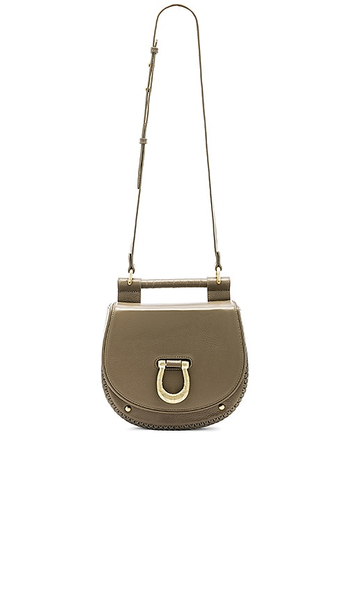 Sancia The Babylon Bar Bag in Taupe