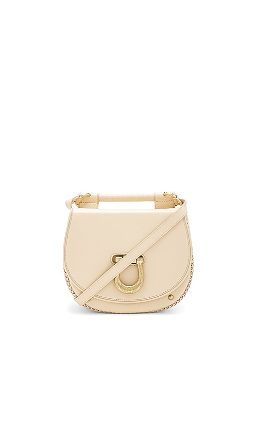 Sancia The Babylon Bar Bag in Cream