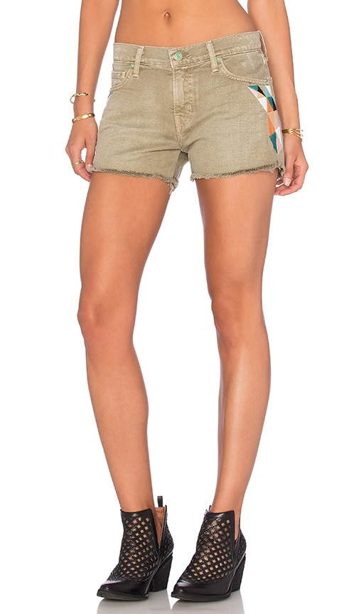Sandrine Rose Army Short in Green