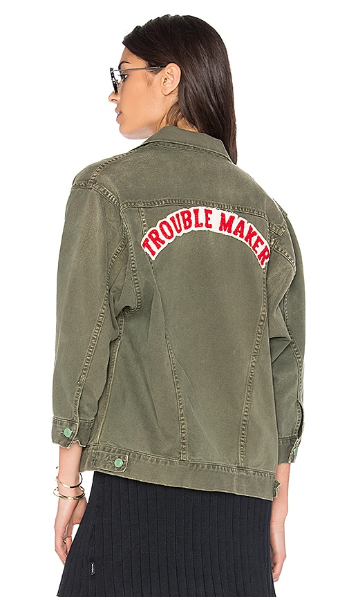 Sandrine Rose The Trouble Utility Jacket in Army