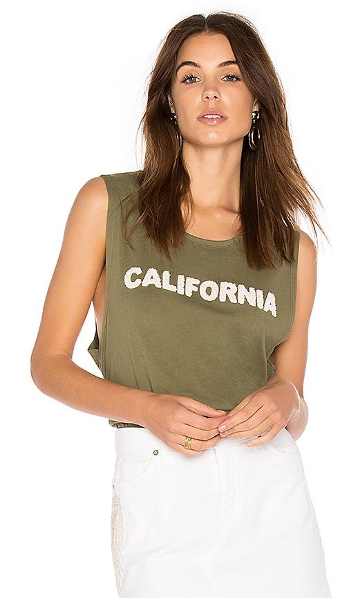 Sandrine Rose California Muscle Tank in Army
