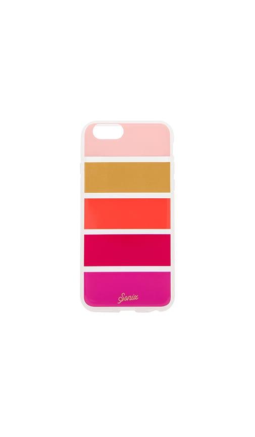 Clear Sienna Stripe iPhone 6 Case