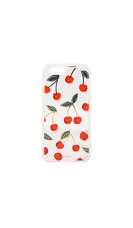 new styles 46689 d39ad Sonix Cherries iPhone 6/6s Case in Clear | REVOLVE