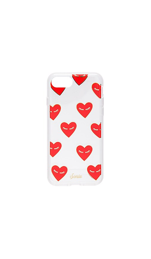 Sonix Fancy Heart iPhone 7 Case in Red