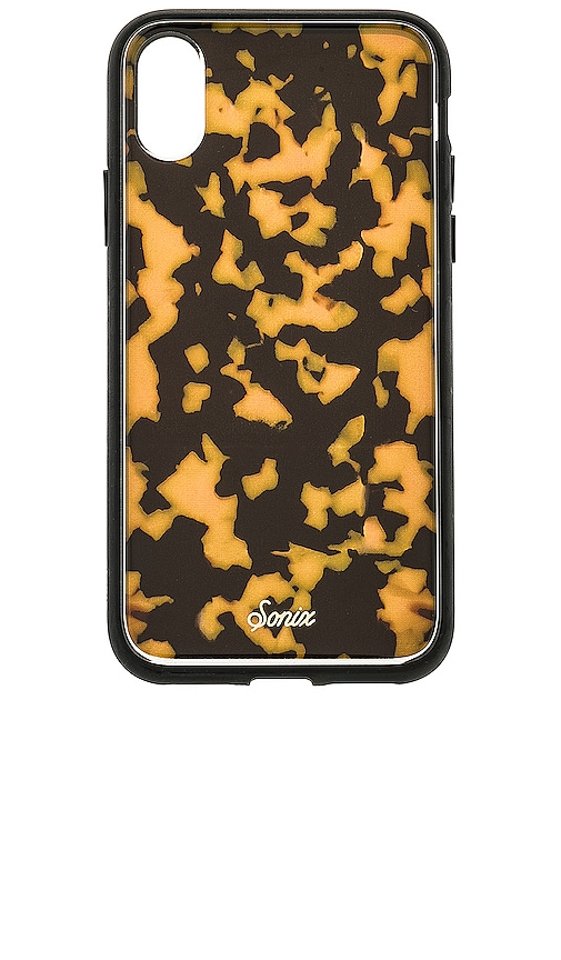 Brown Tortoise iPhone XS/X Case