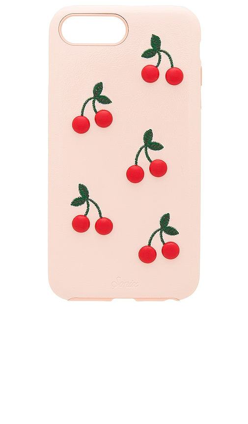 Patent Cherry iPhone 6/7/8 Plus Case