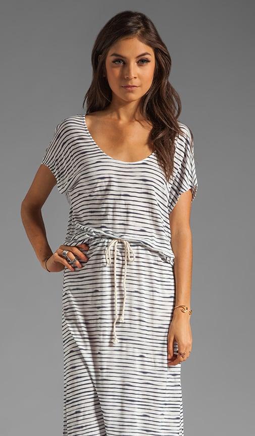 Syrah Stripe Jersey Dress