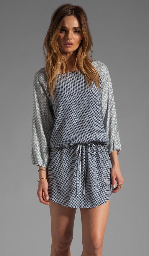 Analee Mixed Geo Dress
