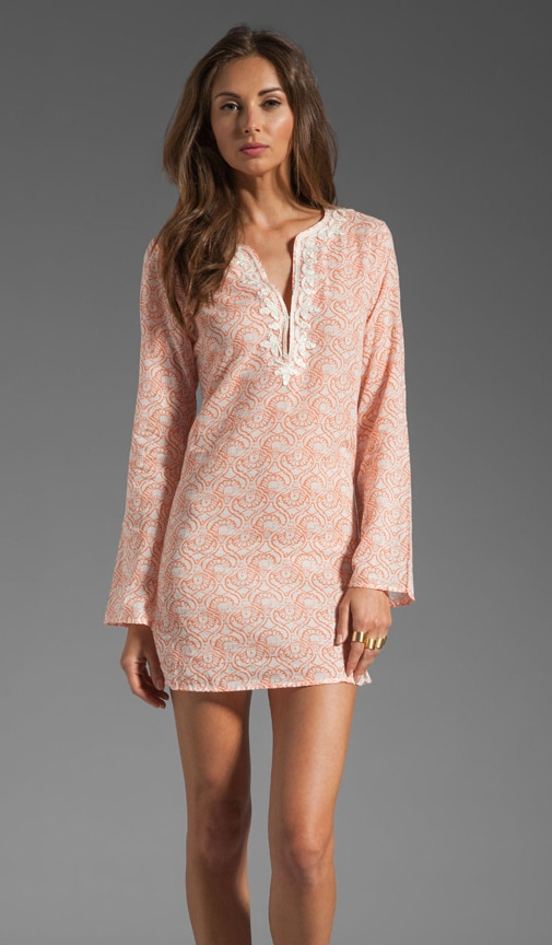 Carney Print Dress