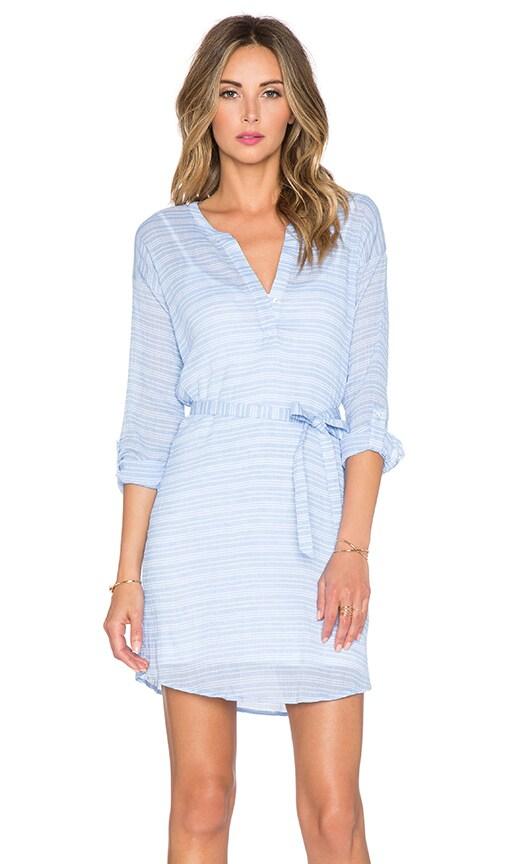 Soft Joie Shella Dress in Placid Blue & Porcelain